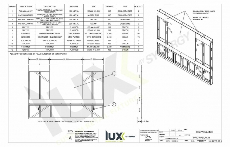Prefabricated Wall Technical Drawing 3